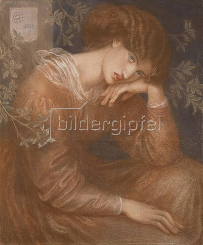 Dante Gabriel Rossetti: Träumerei. 1868