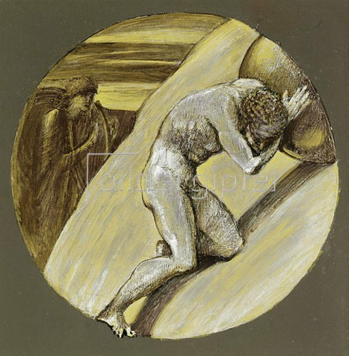 Sir Edward Burne-Jones: Sisyphus.