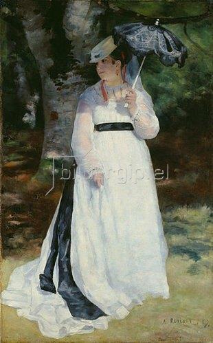 Auguste Renoir: Lise mit dem Sonnenschirm (Lise - La femme à l'ombrelle). 1867