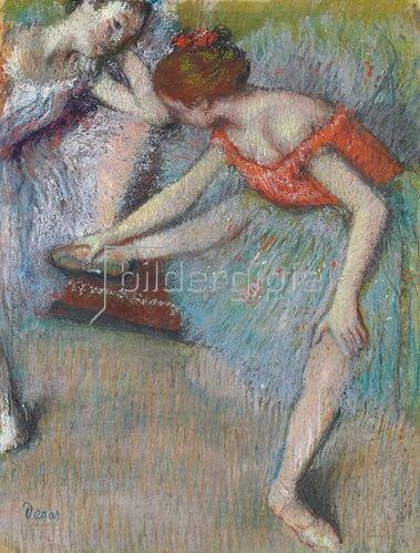 Edgar Degas: Tänzerinnen. Um 1896