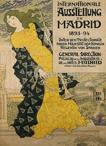Eugene Samuel Grasset: Internationale Ausstellung zu Madrid. 1893