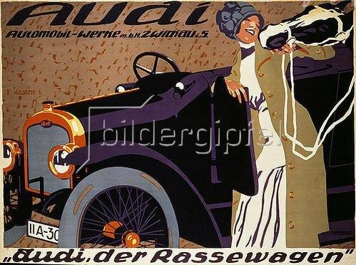 Josef R. Witzel: Audi. 1912