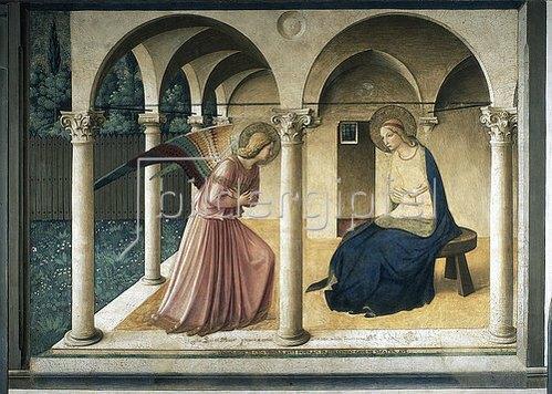 Fra Angelico: Verkündigung Mariae.