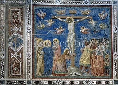 Giotto di Bondone: Kreuzigung. Um 1305