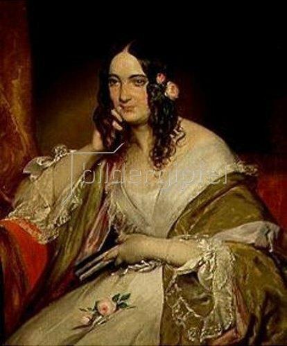 Friedrich von Amerling: Bildnis einer Dame. Gegen 1840.