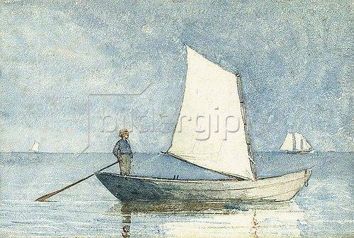 Winslow Homer: Auf einem Dory. 1880