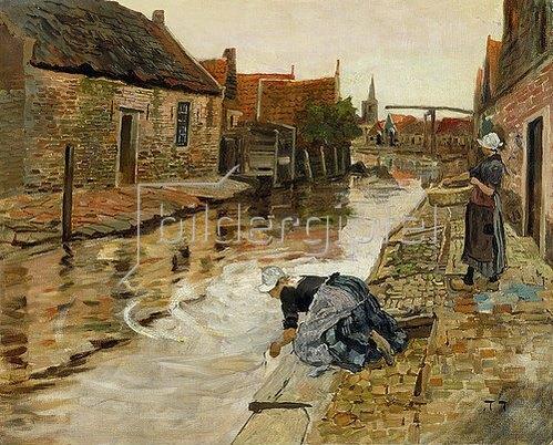 Frits Thaulow: Volendam.