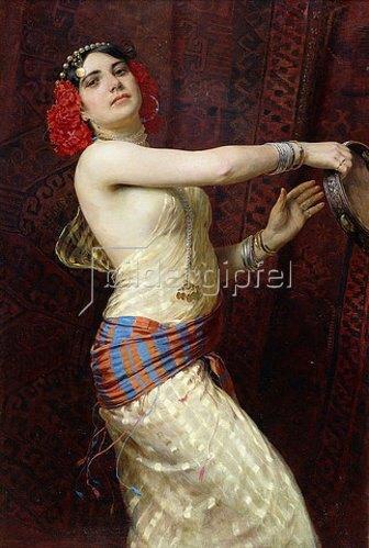 Otto Pilny: Eine Tänzerin aus Damaskus. 1909