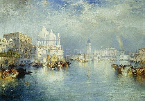 Thomas Moran: Canal Grande, Venedig. 1903