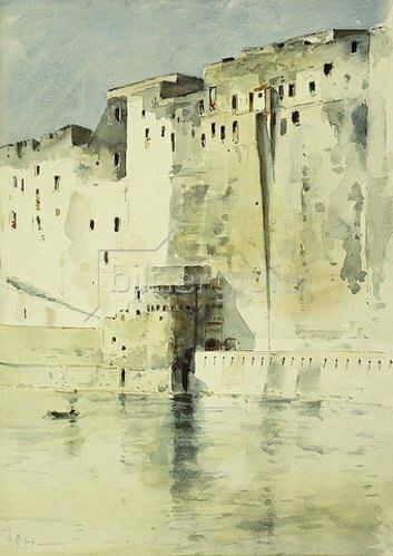 Frederick Childe Hassam: Festung, Neapel.