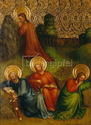 Meister des Heisterbacher Altars: Christus am Ölberg.