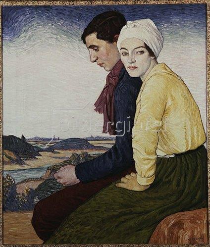 William Strang: Der Treffpunkt. 1915