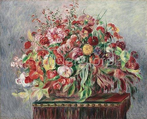 Auguste Renoir: Korb mit Blumen. 1890