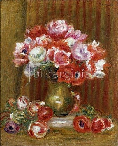 Auguste Renoir: Anemonen. 1909