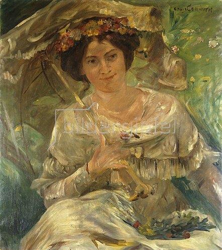 Lovis Corinth: Dame im Sonnenschein. 1910