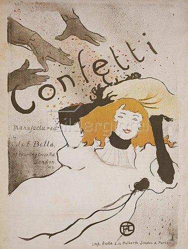 Henri de Toulouse-Lautrec: Confetti. 1895