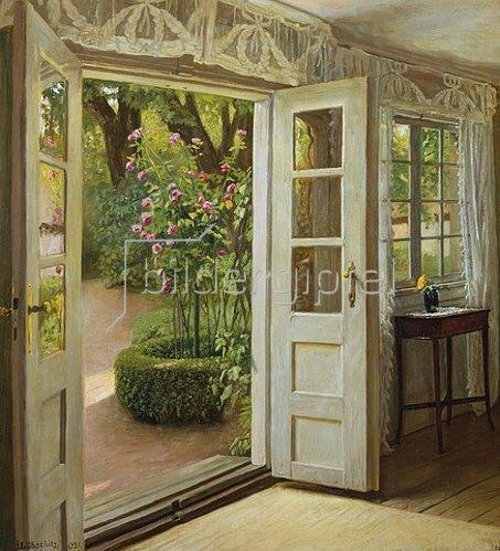 John Leoppold Lubschitz: Die Tür zum Garten. 1921
