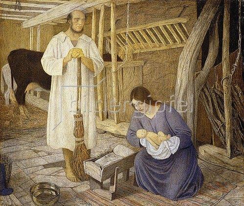 Arthur Joseph Gaskin: Geburt Christi. 1925