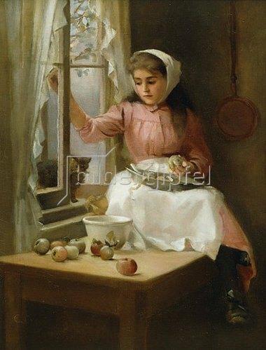 Emily Eyres: Besuch am Küchenfenster.
