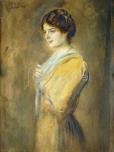 Franz von Lenbach: Gräfin Ilse Seilern. 1902