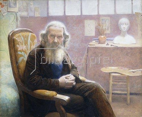 Belmiro Barbosa de Almeida: Der alte Künstler. 1898