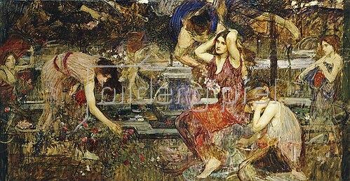 John William Waterhouse: Flora und Zephyr.