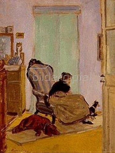 József Rippl-Rónai: Kleinstadtzimmer. 1907.