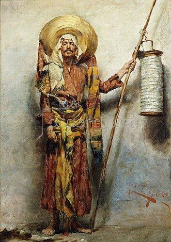 Augusto Cecchi: Wache stehen. 1882