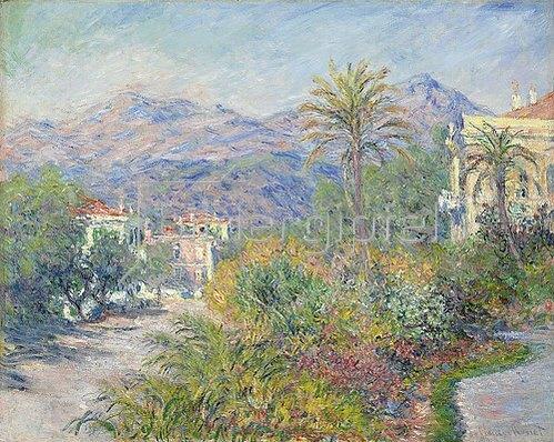 Claude Monet: Strada Romana in Bordighera. 1884