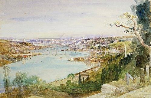 John MacWhirter: Konstantinopel.