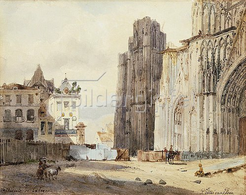 Paul Constantin Dominique Tetar von Elven: Der Dom zu Köln.