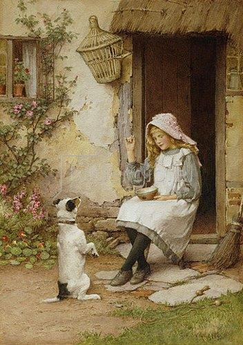 Charles Edward Wilson: Braver Hund.