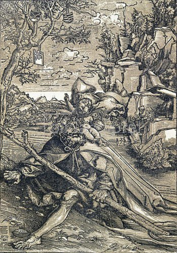 Lucas Cranach d.Ä.: Der hl.Christopherus. 1506-09