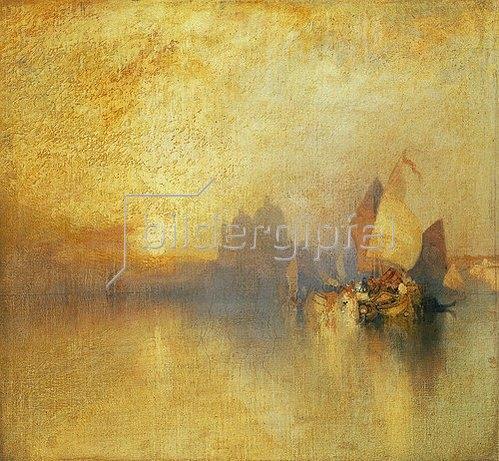 Thomas Moran: Venedig bei Sonnenuntergang.