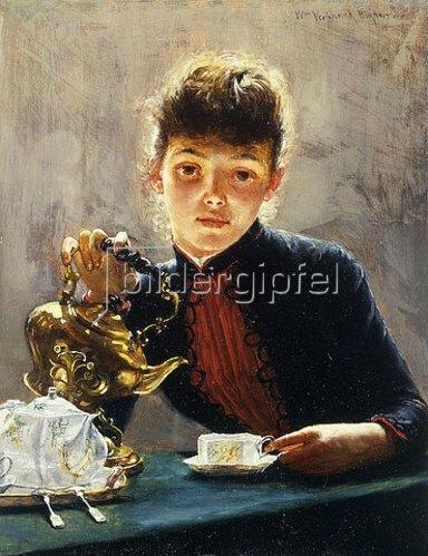 William Verplanck Birney: Eine Tasse Tee.