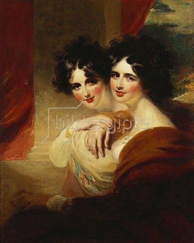 George Henry Harlow: Die beiden Schwestern.