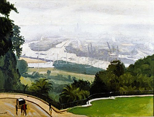 Albert Marquet: Der Hafen von Rouen.