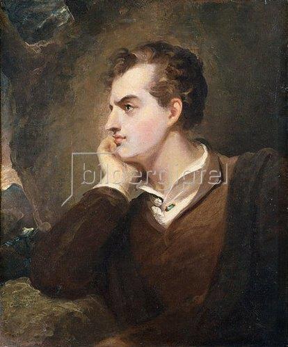 Thomas Sully: Lord Byron (nach dem Gemälde von Richard Westall).