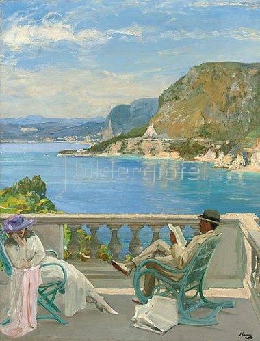 Sir John Lavery: Die Hochzeitsreise. 1921