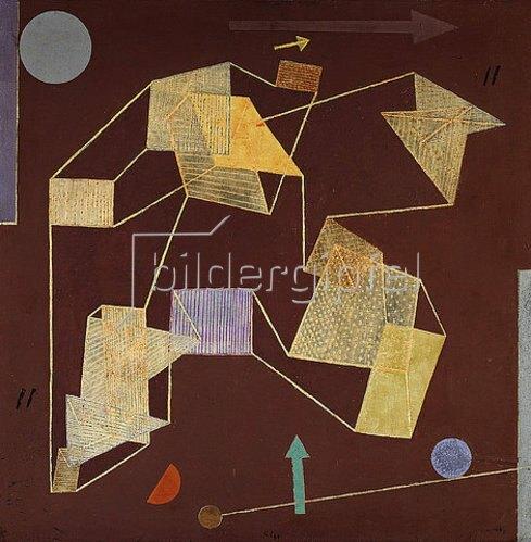 Paul Klee: Auftrieb und Weg (Segelflug). 1932