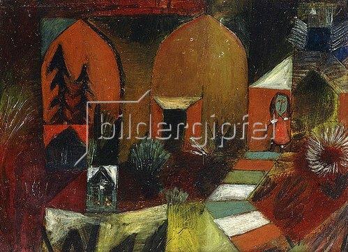 Paul Klee: Kind als Einsiedler. 1920