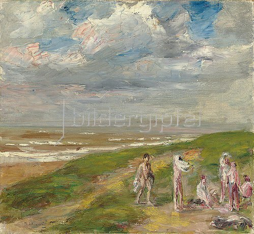 Max Liebermann: Nach dem Bade. Um 1908-10