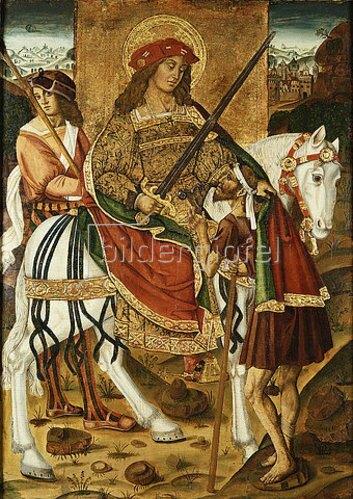 Martin de Soria: Der heilige Martin und der Bettler.
