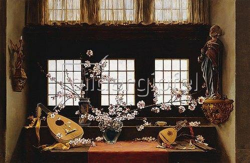 Charles Caryl Coleman: Atelierfenster, Isle of Capri. 1897