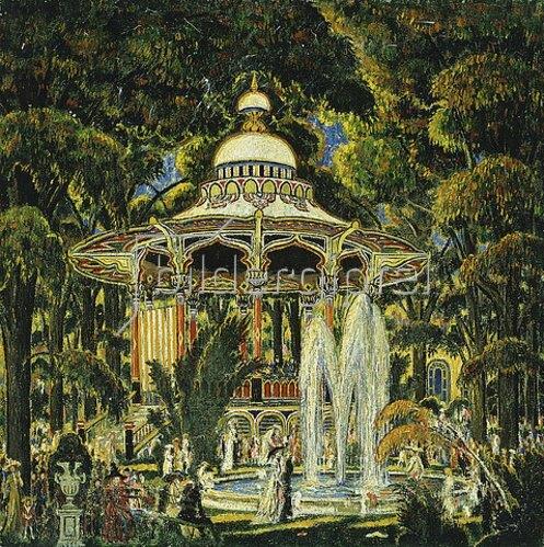 Edward Middleton Manigault: Pavillon im Central Park.