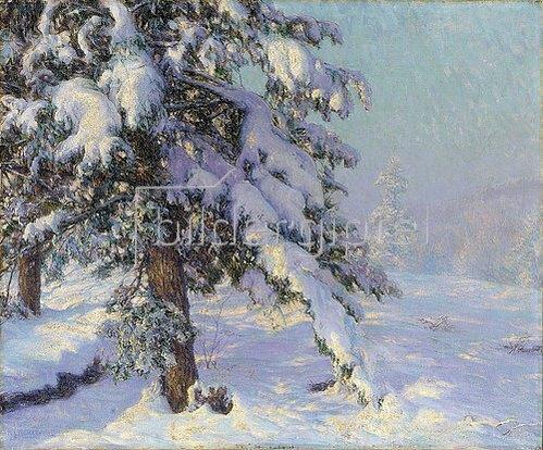 Walter Launt Palmer: Schneebedeckt.