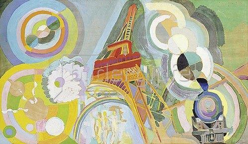 Robert Delaunay: Luft, Feuer und Wasser (Studie). 1937