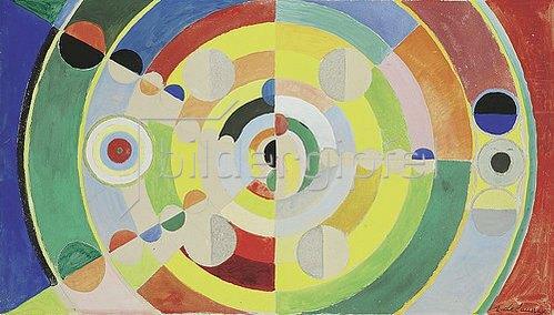 Robert Delaunay: Relief-disques. 1936