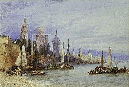 William Callow: Mainz. 1895
