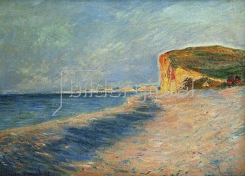 Claude Monet: Pourville bei Dieppe. 1882
